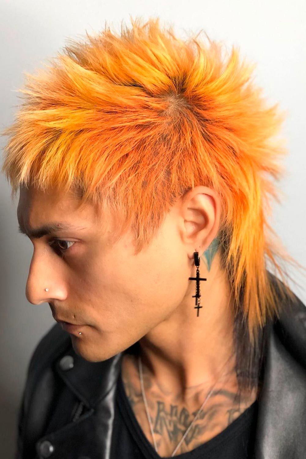 Bright Styled Mullet