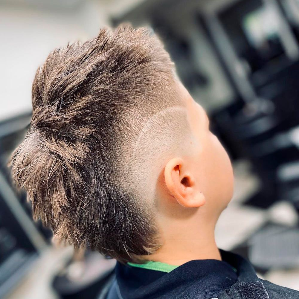 Mullet Haircut With Straight Line