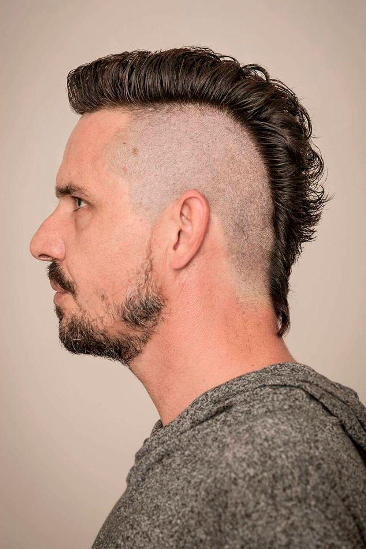 Shaved Sides Mullet