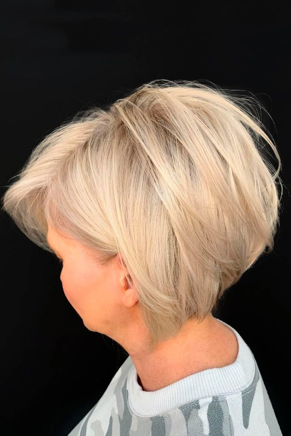Blunt Long Pixie For Straight Hair , pixie haircuts for fine wine and women over 50, pixie layered haircuts for women over 50,