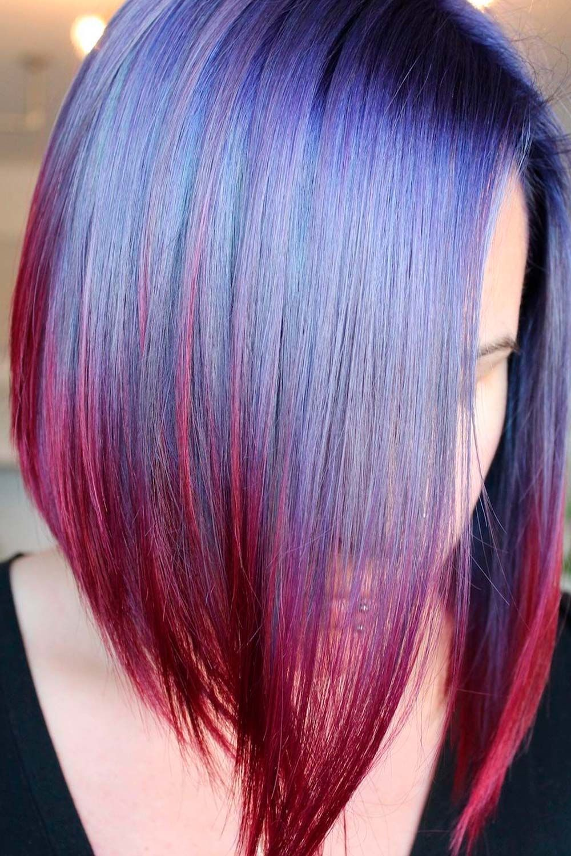 Violet Blue With Purple Ends