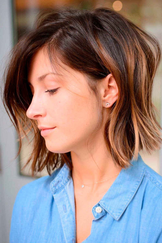 Flirty Flip, best hair for heart shaped face, heart shaped face short haircut