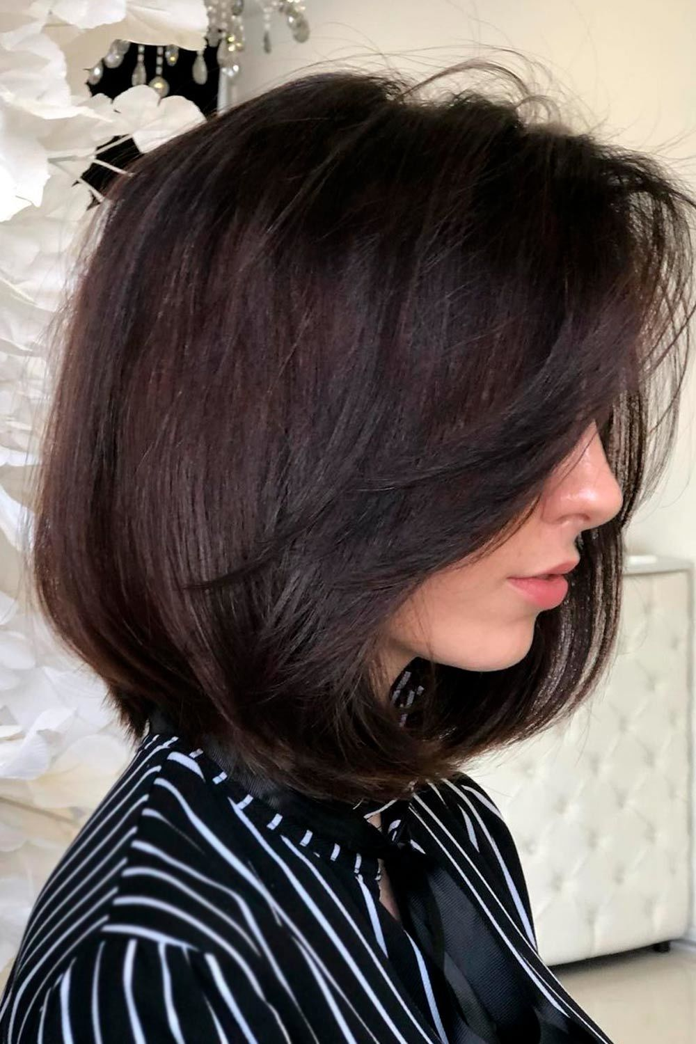 Flattering Short Hairstyles For Round Faces, short hairstyles for fat faces, haircuts for chubby faces