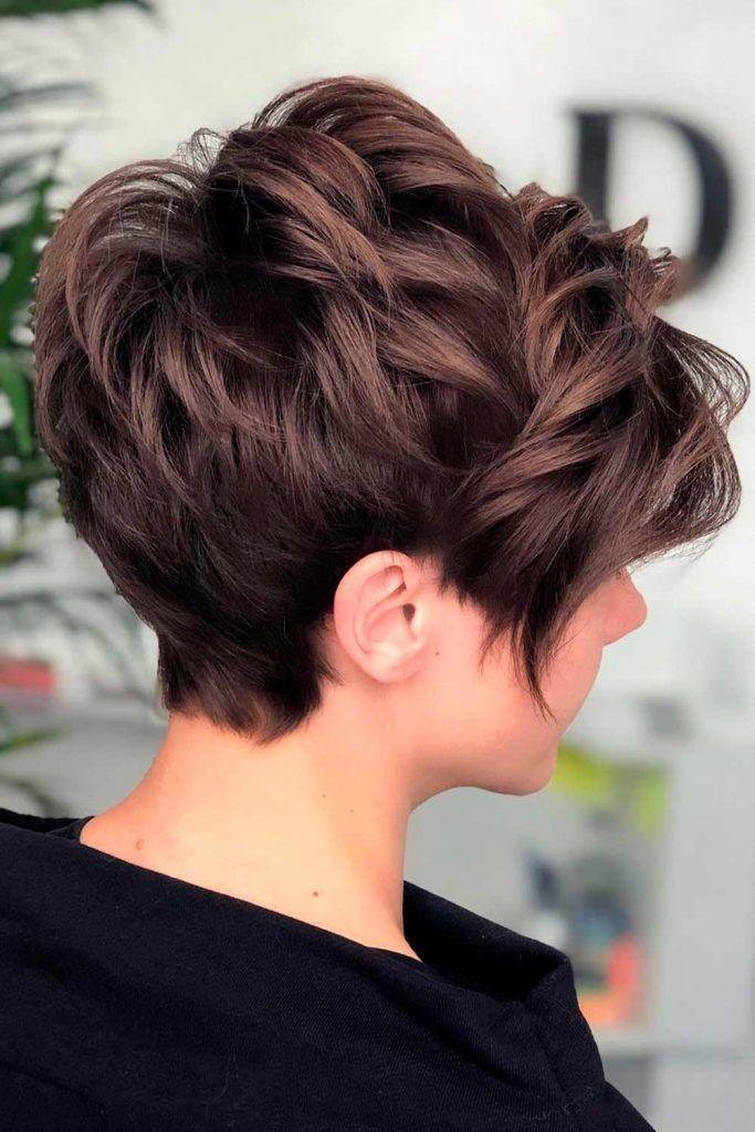Curly Pixie Haircut, short shaggy haircuts, short shaggy wispy haircuts, short shag
