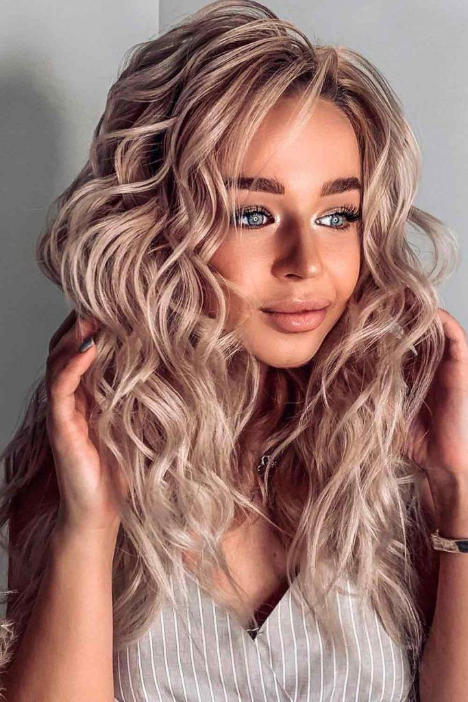 Soft Blonde Weave Hairstyles