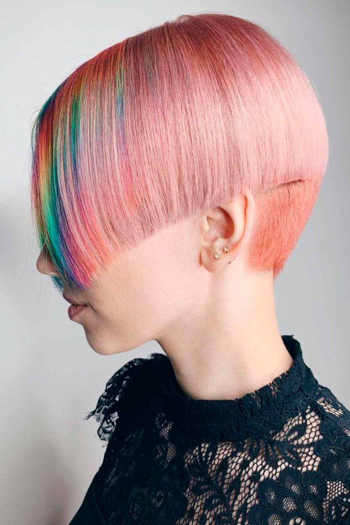 Undercut-Inspired Asymmetrical Wedge, haircut wedge, short wedge bob haircut, wedge short haircut