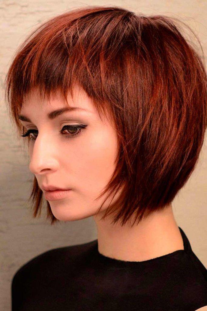 Auburn Wedge Cut, what is a wedge haircut, wedge style haircut, stacked wedge haircut