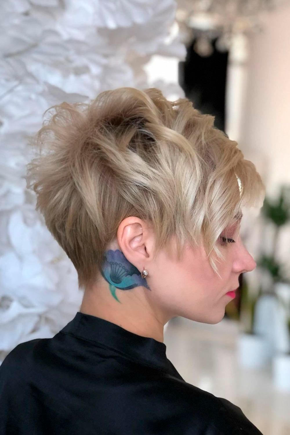 Pixie Cut For Short Curly Hair