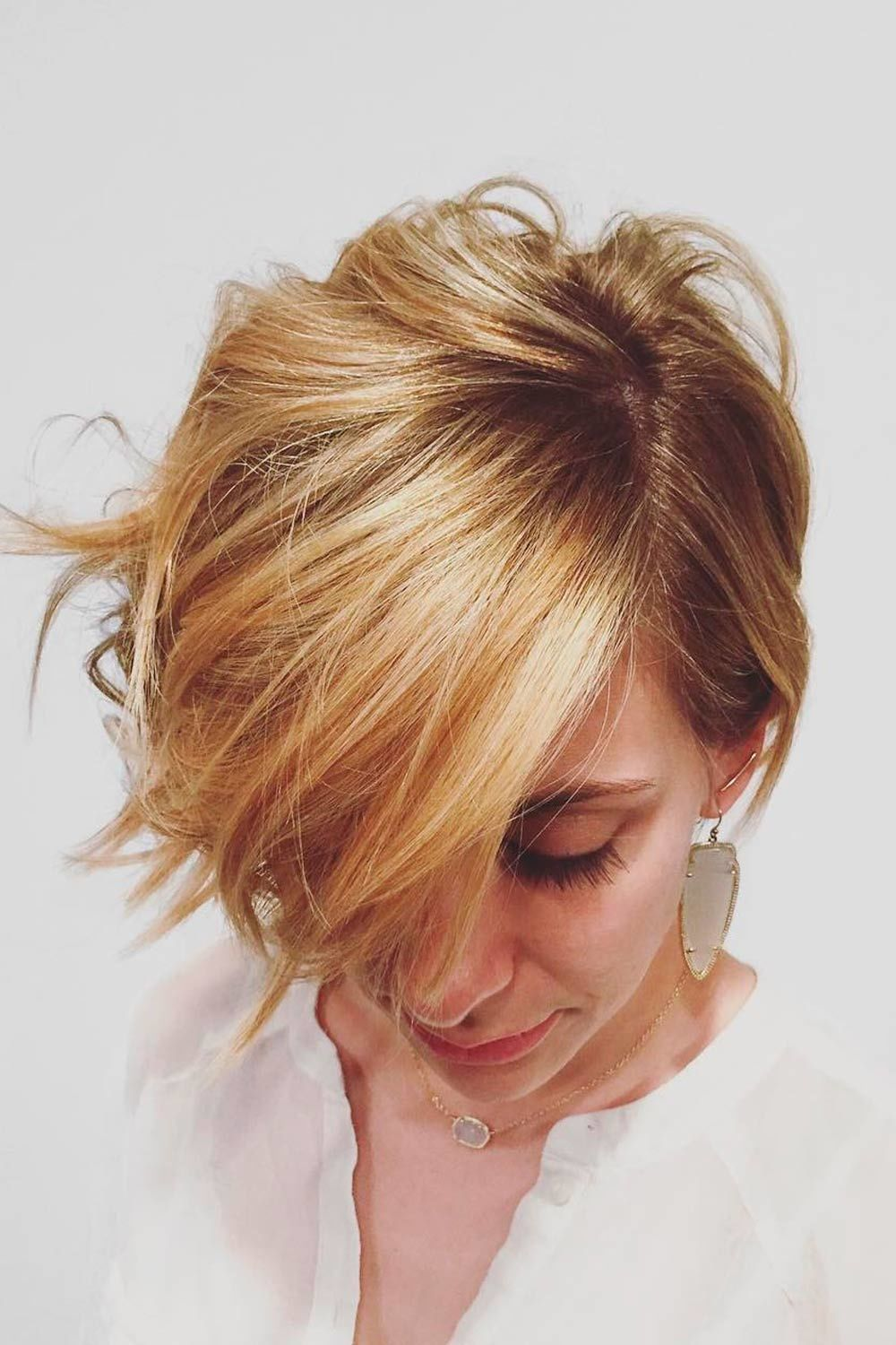 Messy Asymmetrical Pixie Cut