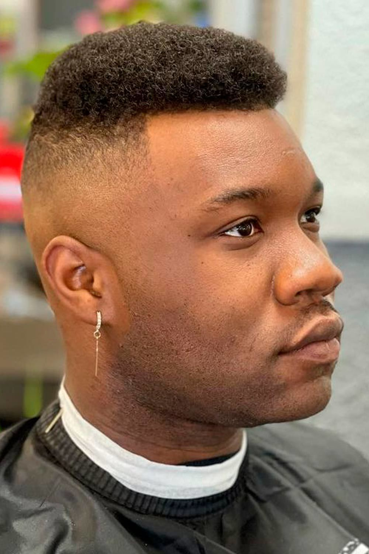 Simple Black Men Cuts + High Fade