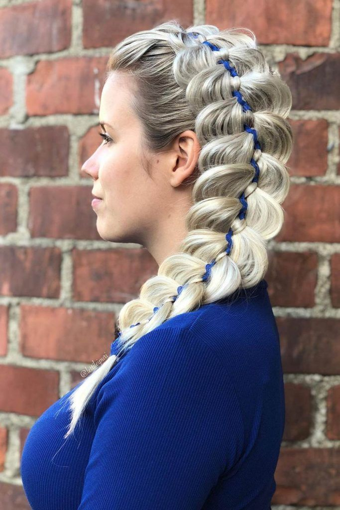 4 Strand Braid Hair