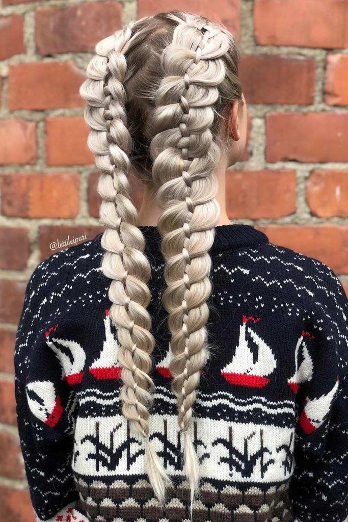 4 Strand Braid Hairstyle Ideas