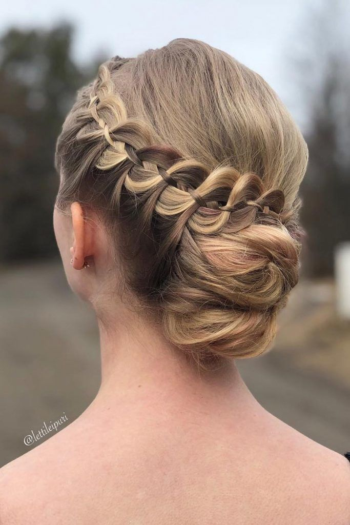 Four Strand Braid Updo