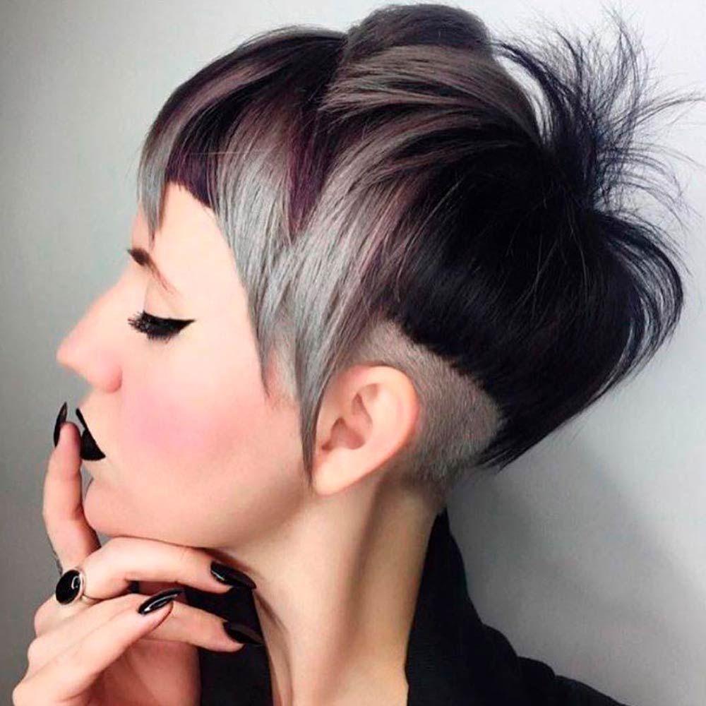 Pixie Hair Cuts With An Undercut