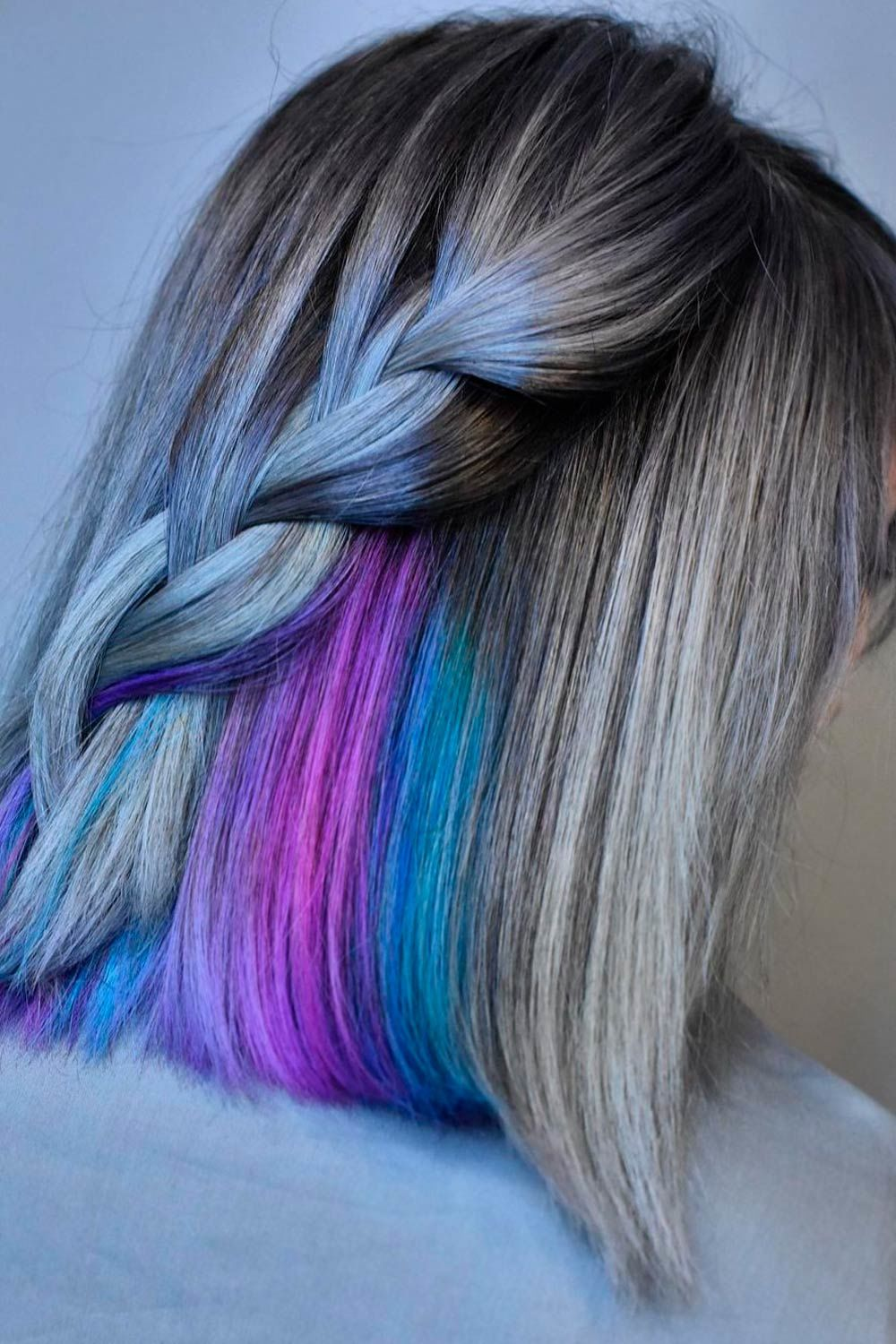 Three Strand Braid Waterfall, salt and pepper ponytail, what is salt and pepper look, salt and pepper hair meaning,