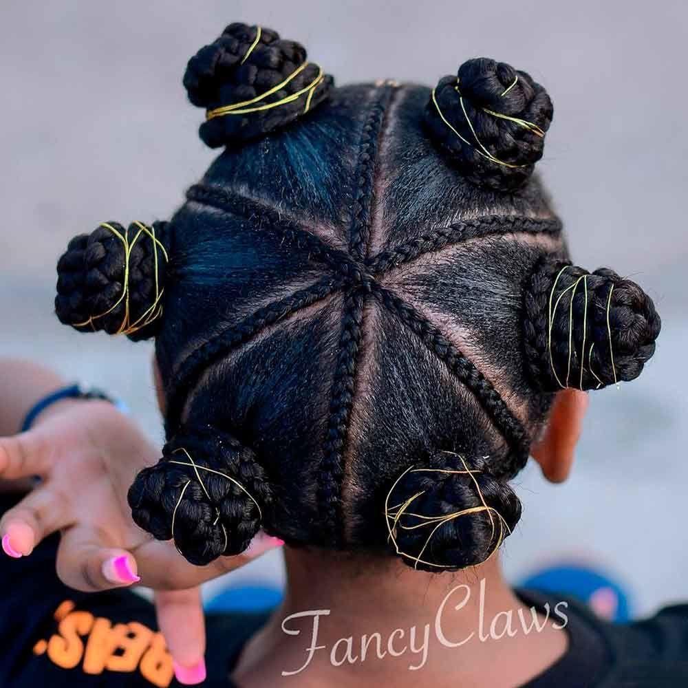 Impressive Bantu Knots For Short Hair