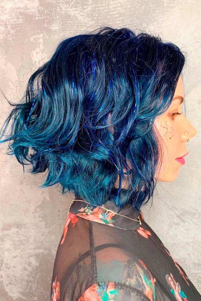 Fantasy Blue Hair