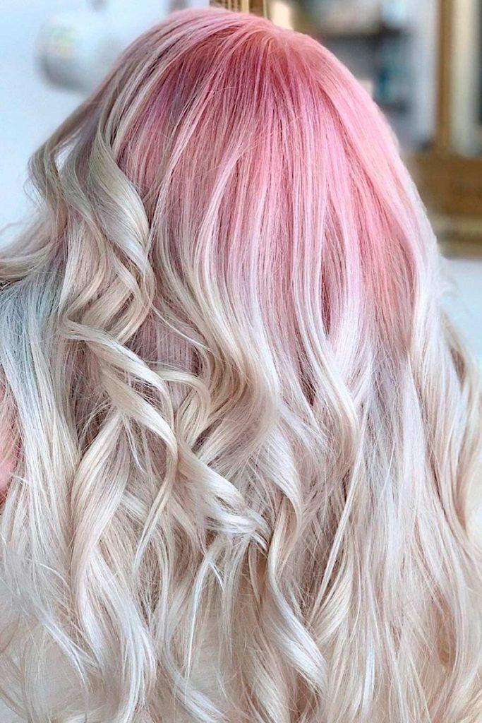 Dusty Pastel Hair Colors