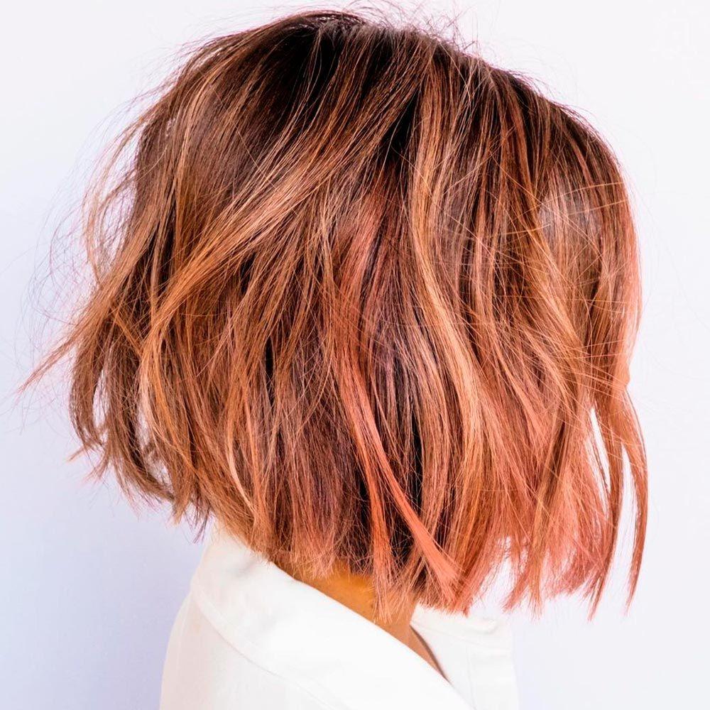 Dark Coral Copper Hair