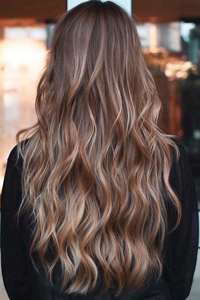Sun Kissed Hair Color Idea