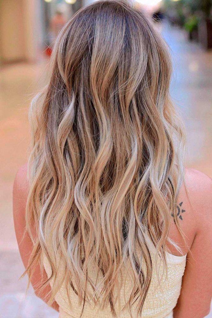 Wheat Blonde Melt Hair Color