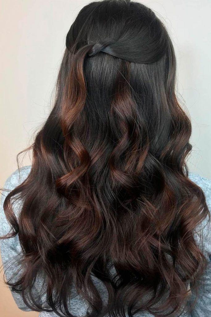 Wood Brown Hair