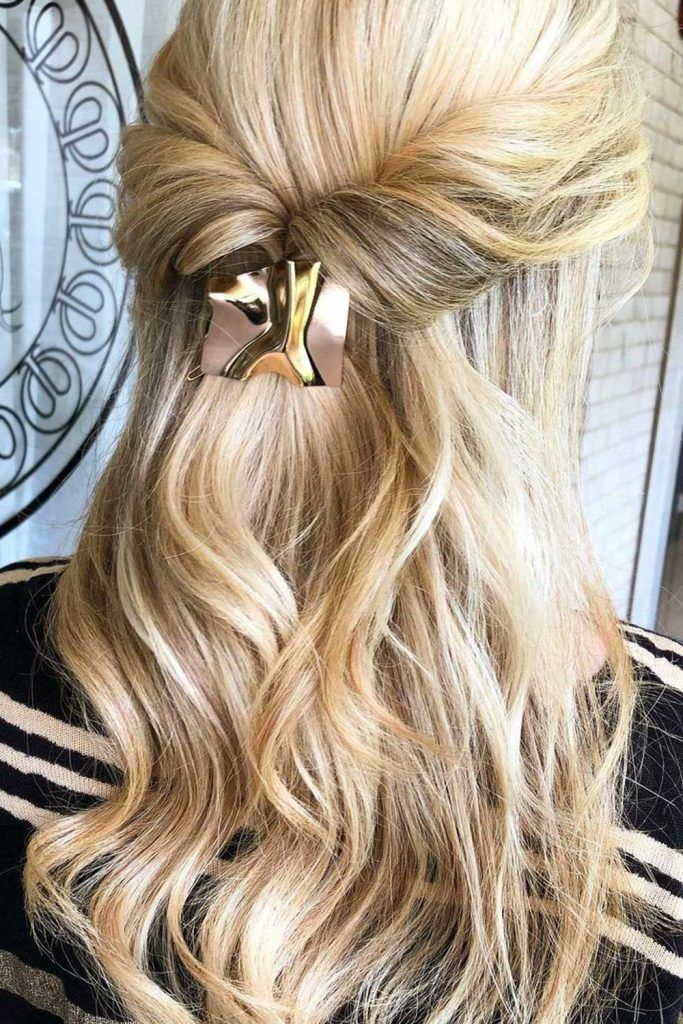 Half-Up, Half-Down Professional Hair Styles