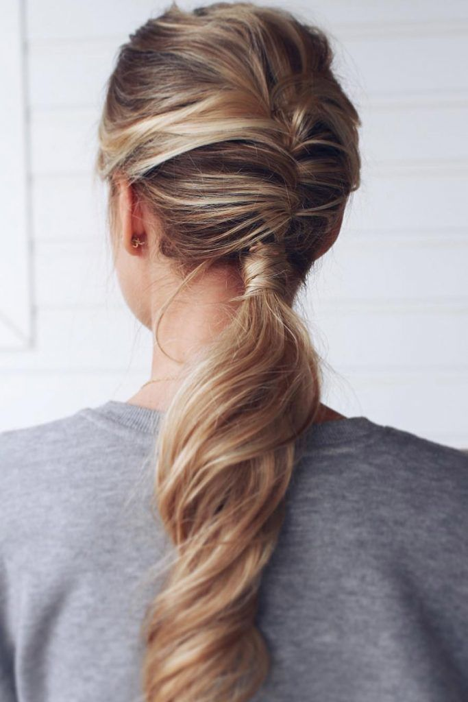Professional Style With Low Ponytail
