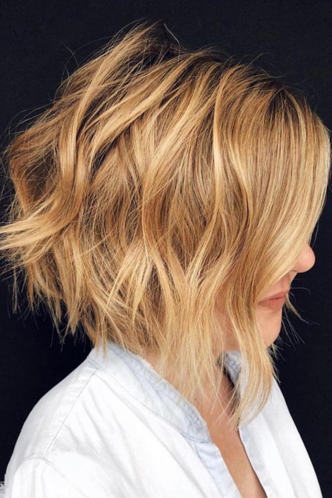 Short And Wavy Professional Hairstyles