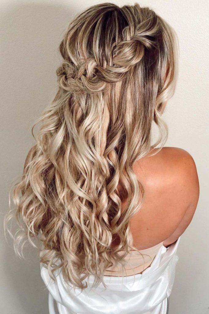 Half-Up Braided Hairstyles
