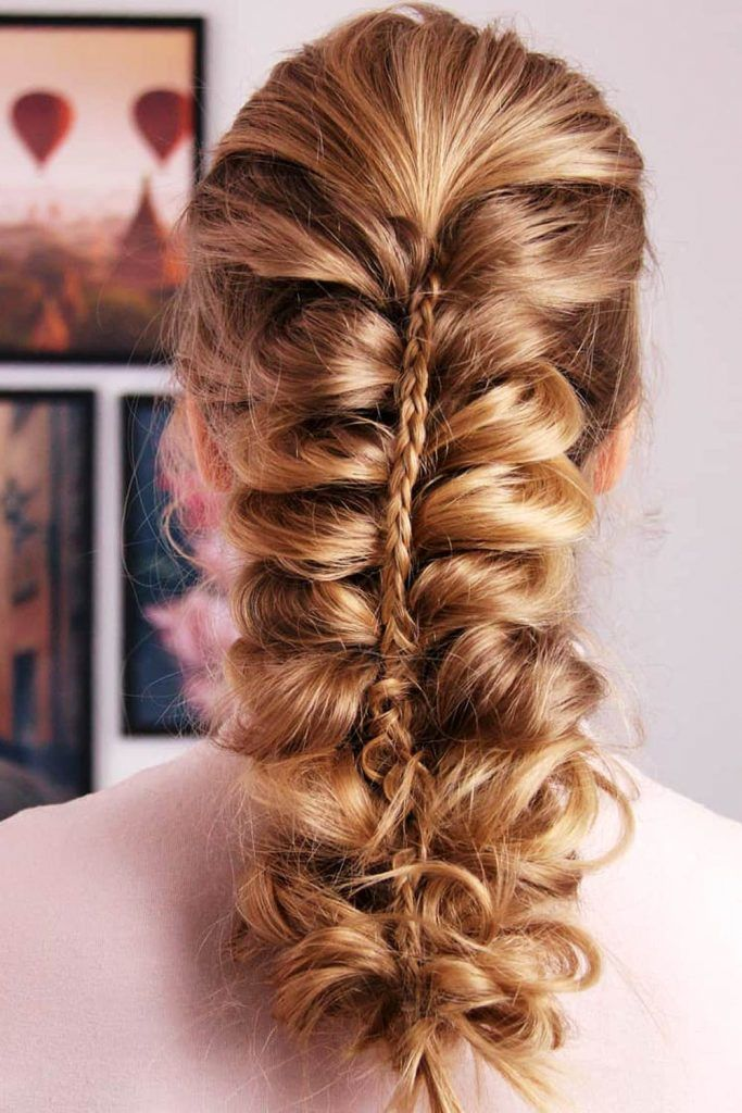 Romantic Messy Braided Hairstyles