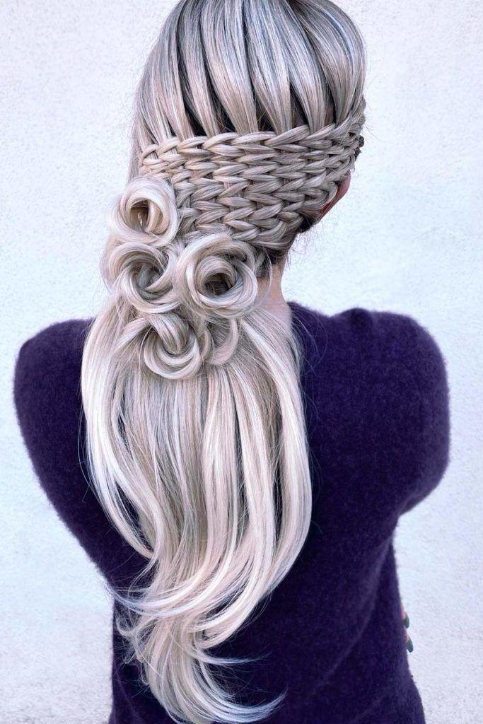 Rose Braid Style