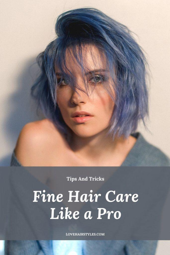 Fine Hair Caring