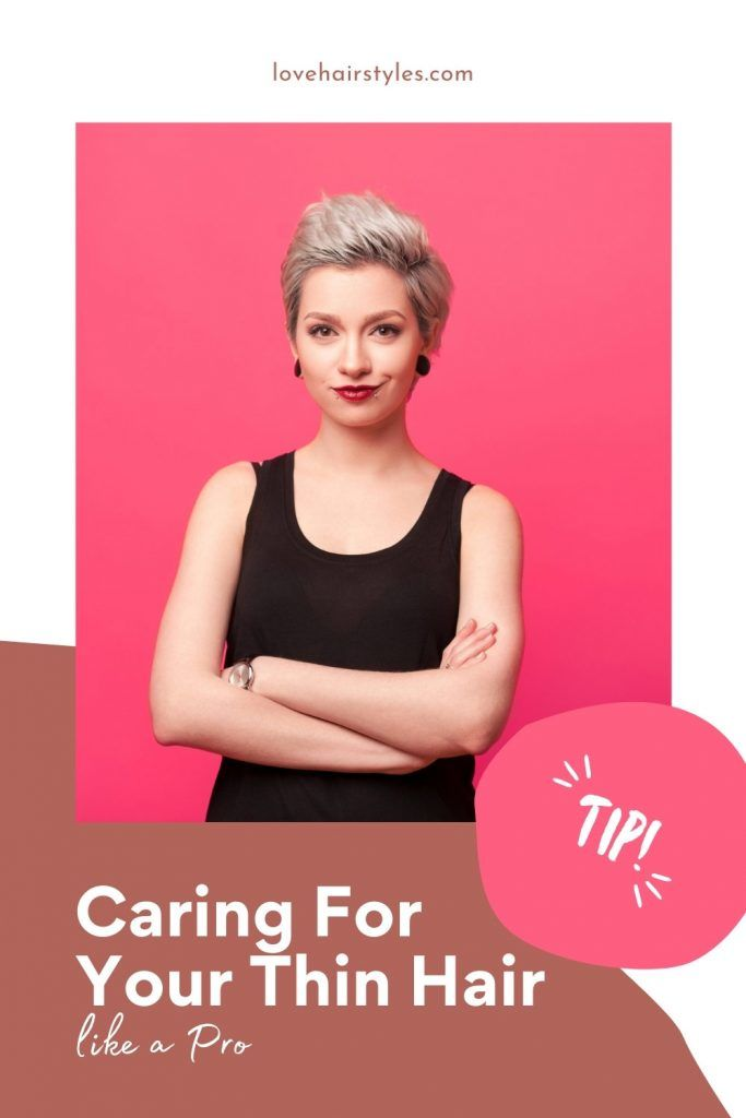 Caring For Your Thin Hair