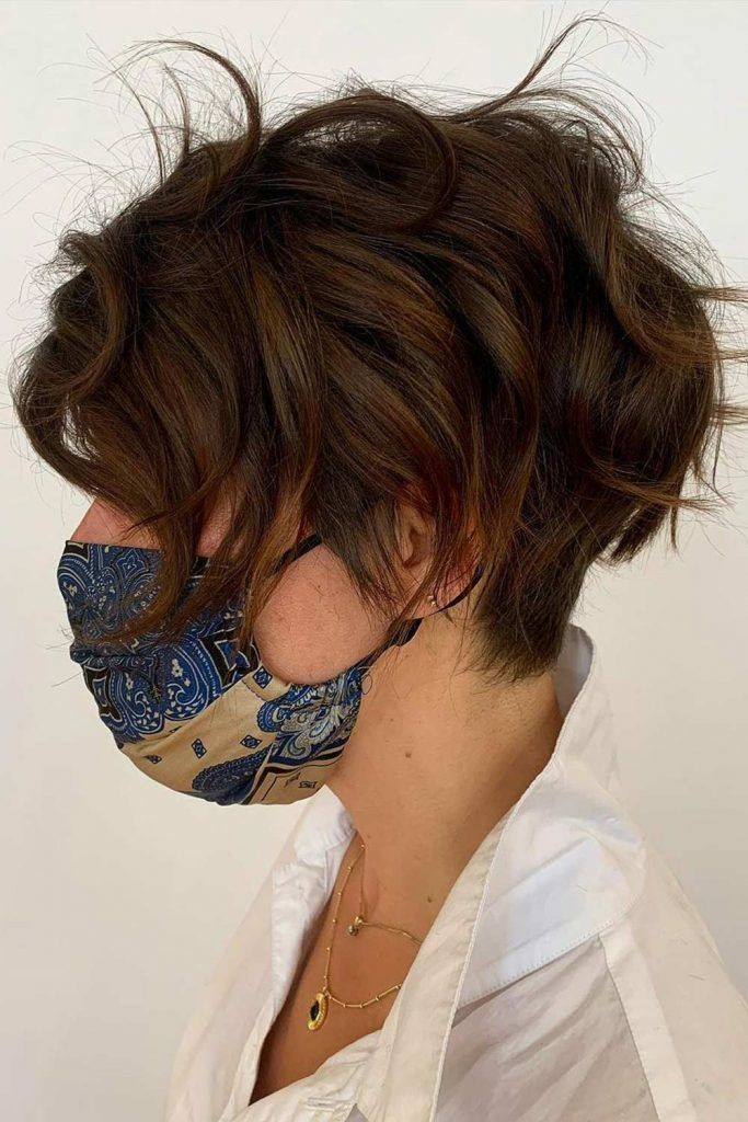 Inverted Layered Short Pixie