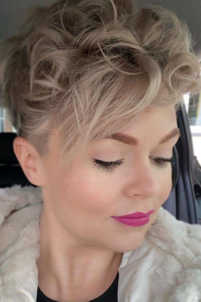 Short Pixie Cut For Curly Hair