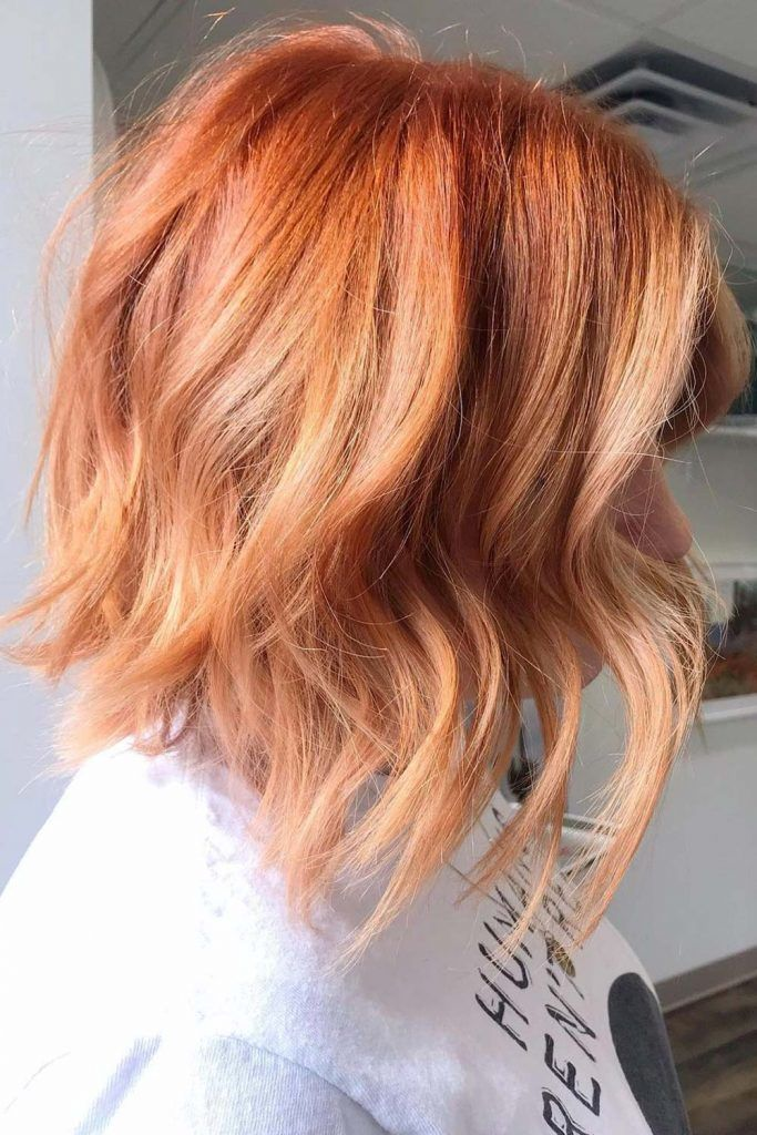 Dusty Ginger Strawberry Blonde