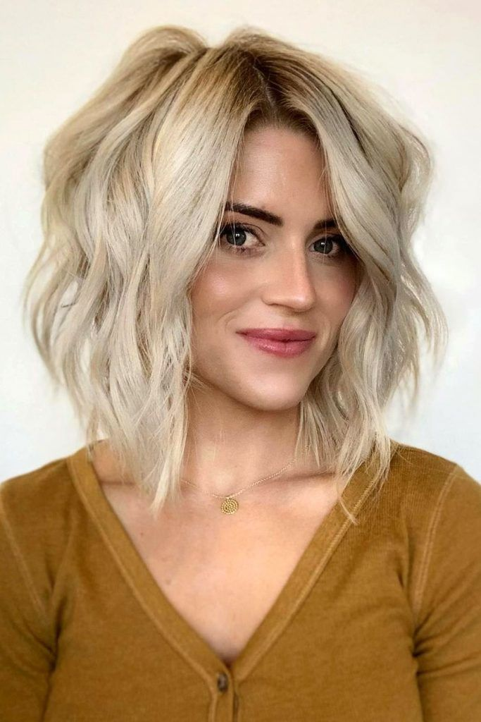 Bob Hairstyles With Messy Waves