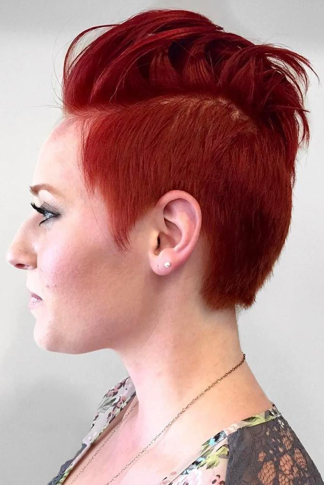 Styled Back Top Hair For Stylish Short Hairstyle