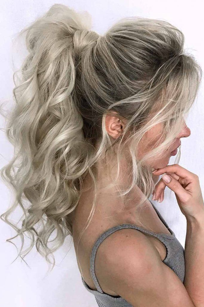 Platinum Blonde Curls