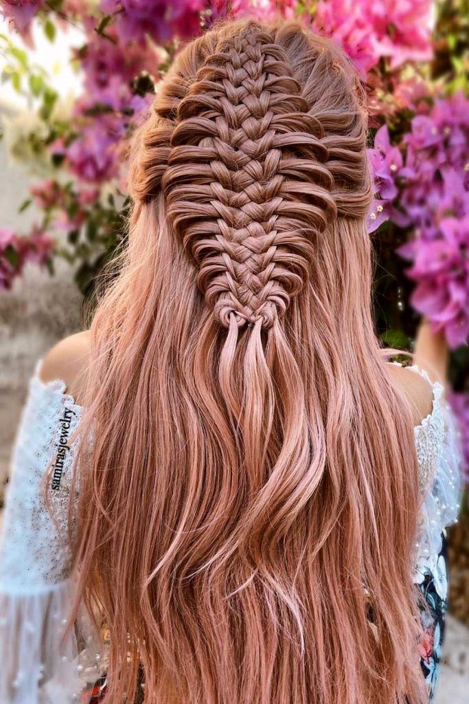 Mesmerizing Combo Lace and French Braids