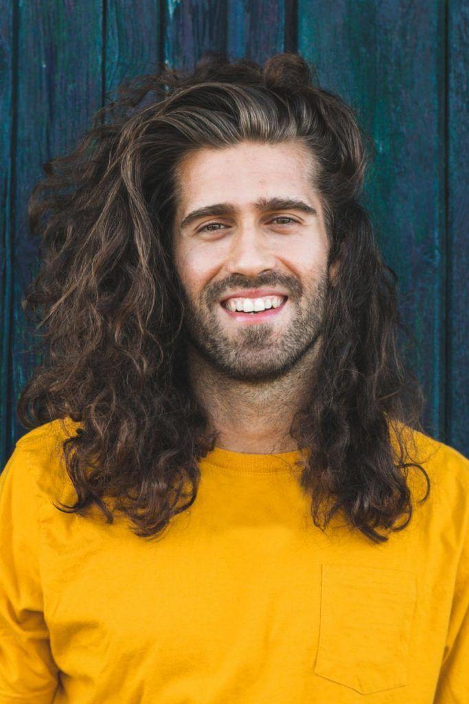 Long Messy Curls