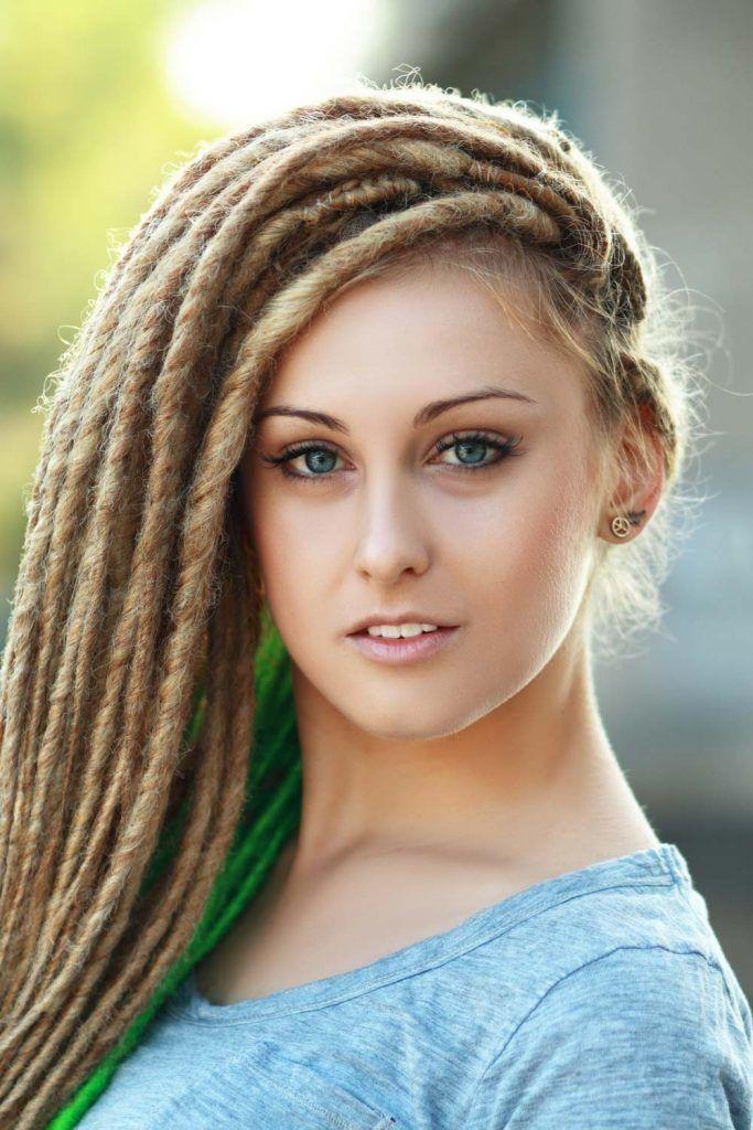 Hairstyles For Long Dreadlocks