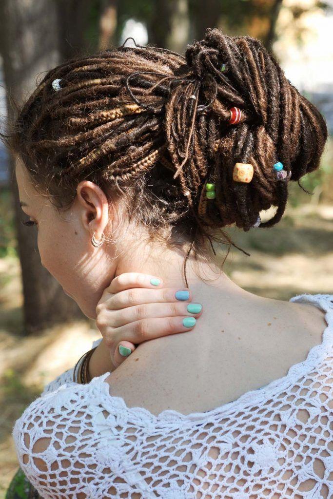 Dread Bun Hairstyles