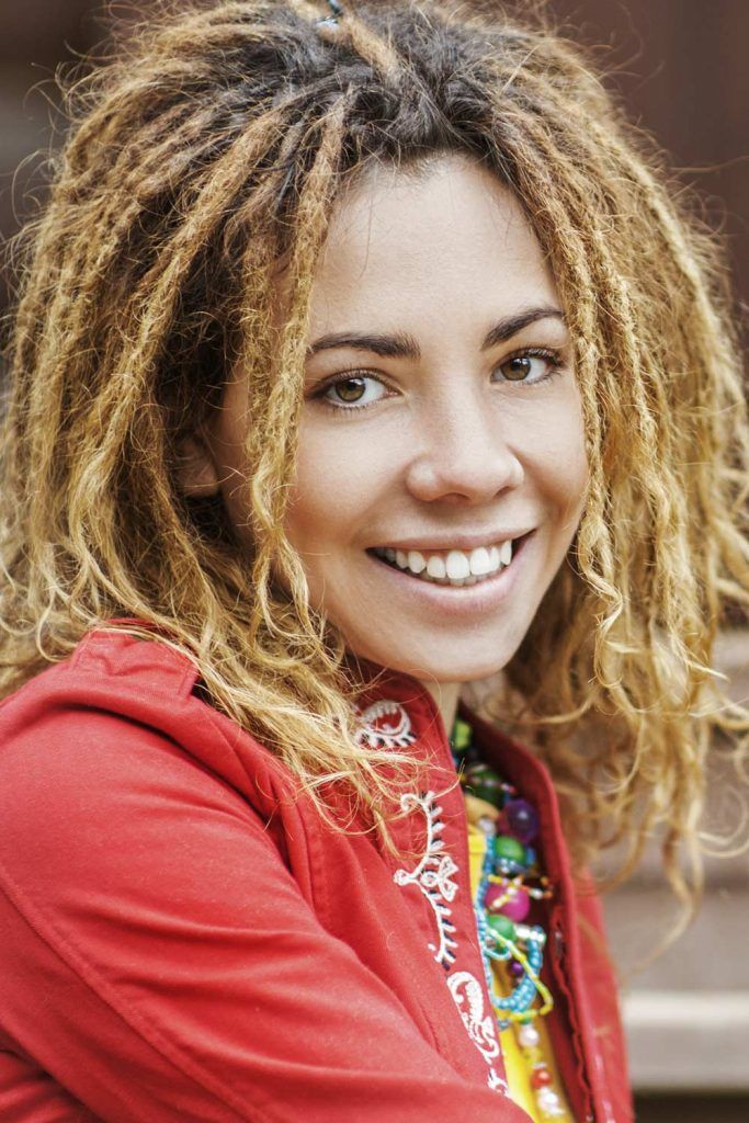 Hairstyles For Medium Dreads