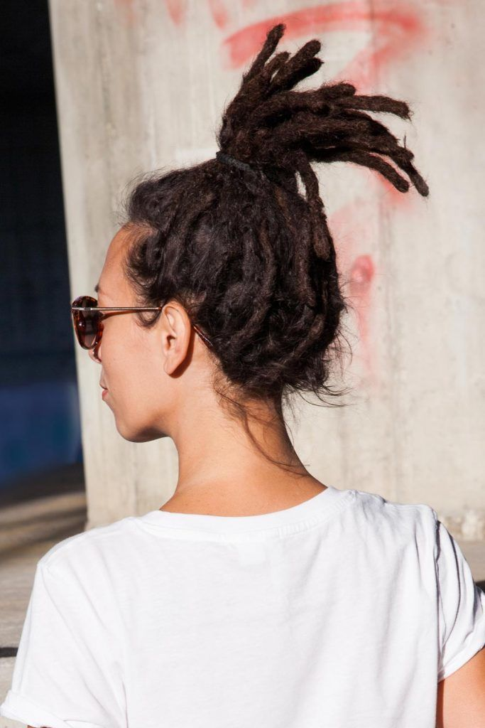 Dreadlocks Ponytail Hairstyle