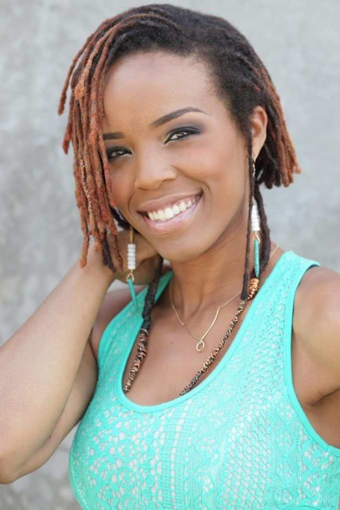 Hairstyles For Short Dreads