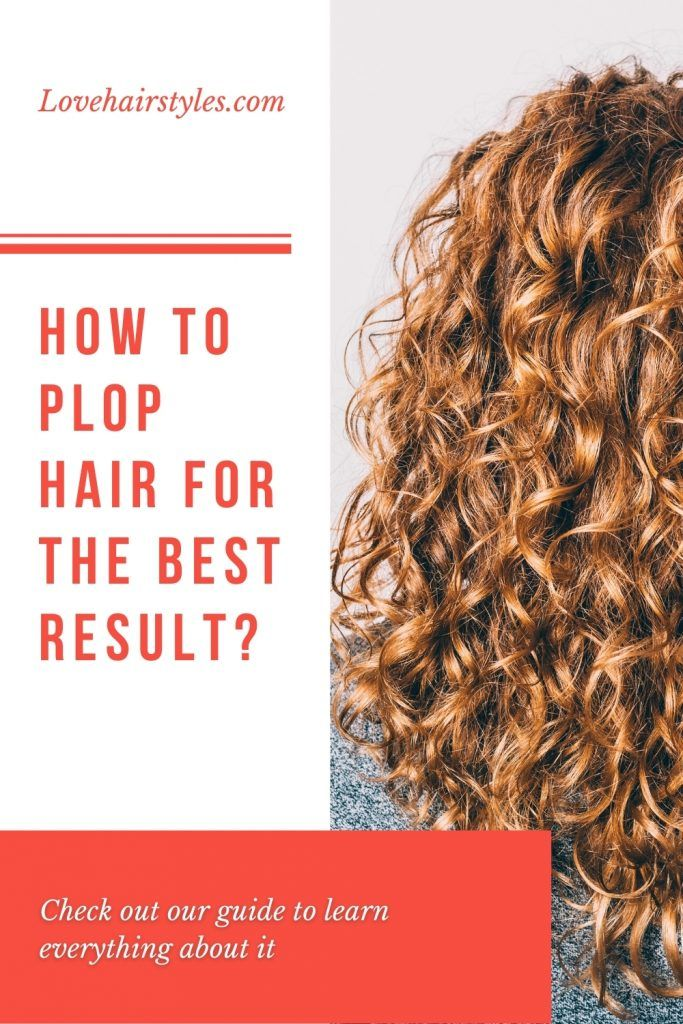 What Does Plopping Curls Mean?