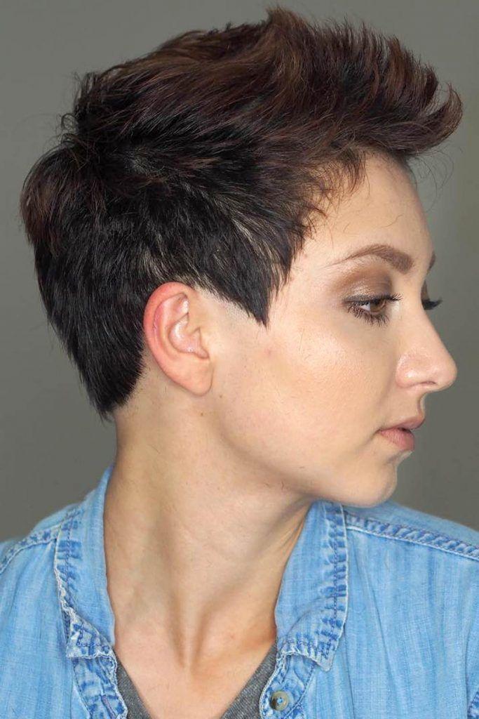 Medium Taper Hair With Faux Hawk Top