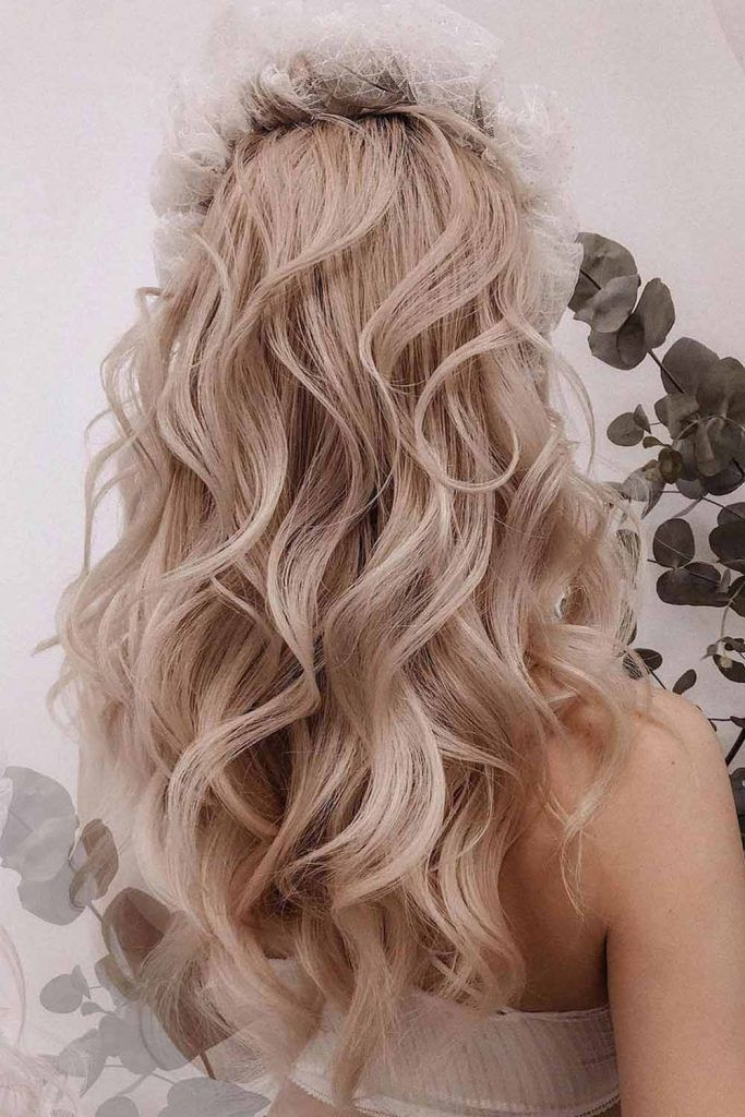Big Voluminous Waves Long Hairstyles